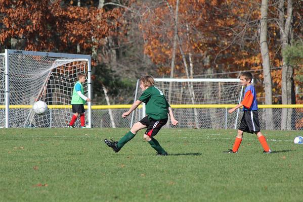 Soccer Green v Blue OCT 27 2012