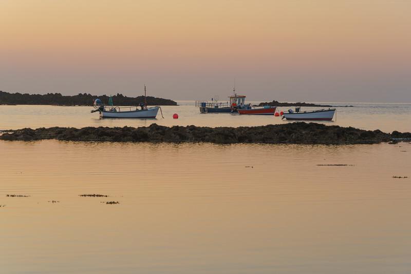 Sunset, Vazon Bay, Guernsey