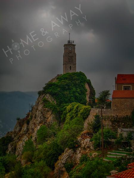 Clock-tower of Meteora