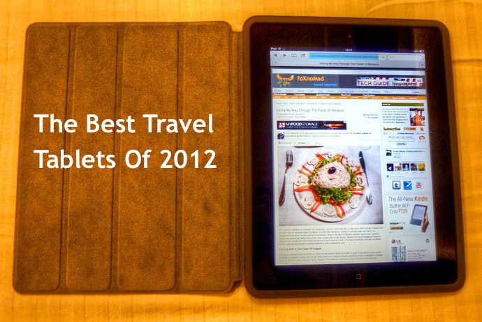 best travel tablets 2012