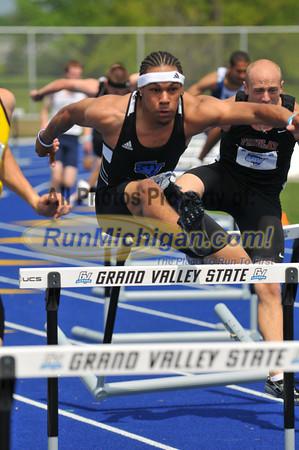 Men's and Women's 400 Meter Hurdles FInal - 2012 GLIAC Outdoor T&F