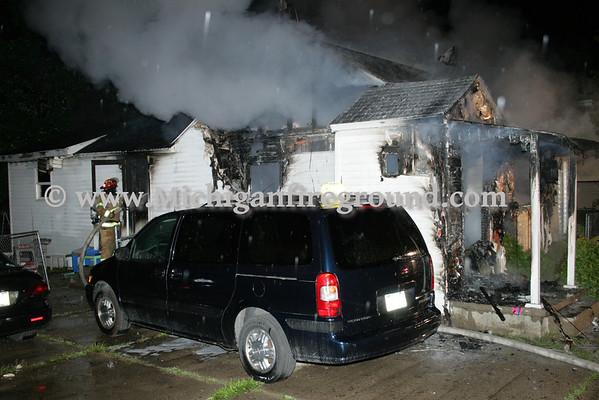 8/28/09 - Delhi Twp house fire, 2529 Kate