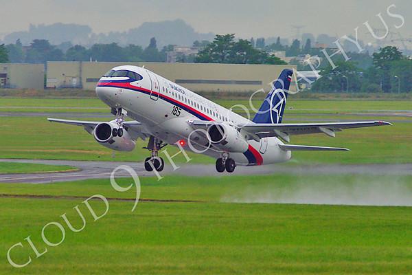 Sukhoi Super Jet 100 Prototype Airliner Pictures