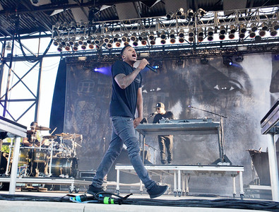 Daughtry and Lecrae at Fort Benning 2016