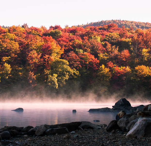 vermont fall road trip