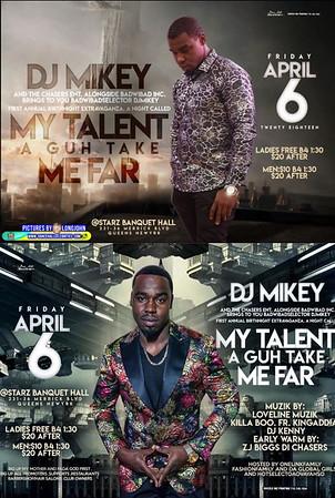"""DJ MIKEY """"MY TALENT AH GUH GET MI FAR 2018""""(15)"""
