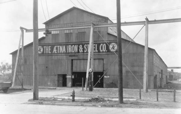 Ætna Iron & Steel Company in 1943. Courtesy of the State Archives of Florida, Florida Memory, http://floridamemory.com/items/show/51369