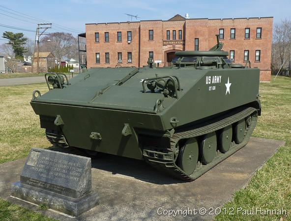 CTANG Armory - Branford, CT - M114
