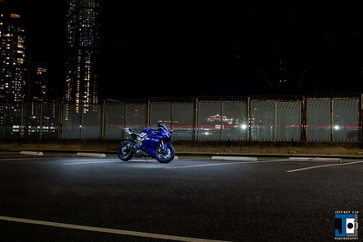 Yamaha R6 Dan Night Shoot Oct