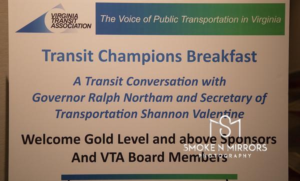 Transit Champions Breakfast