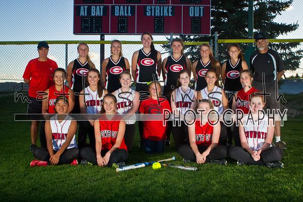 GHS Softball 2013