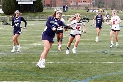 Girls Varsity Lacrosse vs. Milton