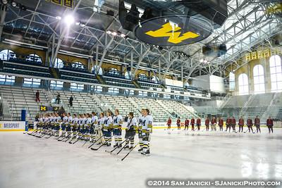 10-26-14 Michigan Women's Hockey Vs Ohio State