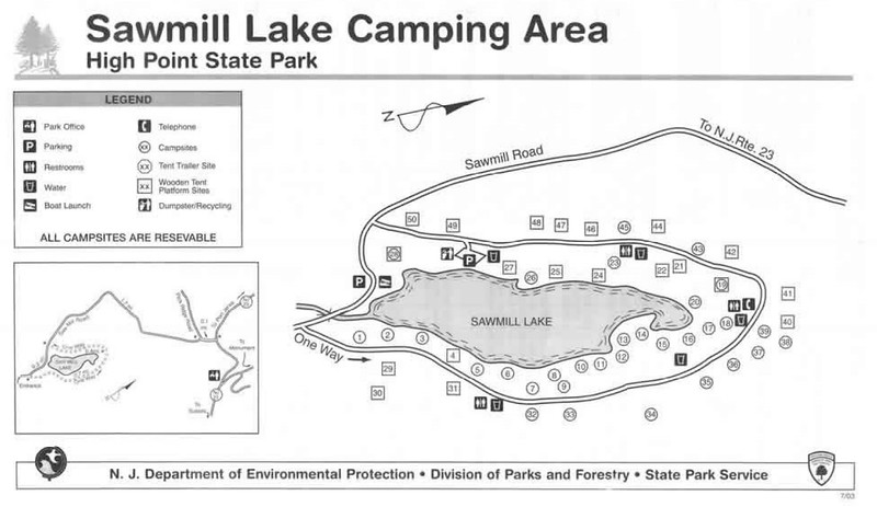 High Point State Park (Sawmill Lake Camping Area)