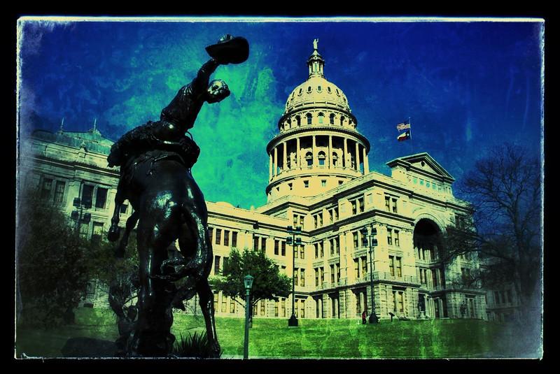 Snapseeded Texas Capitol