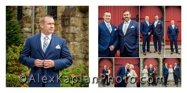 Wedding at St. Bernard's, Bernardsville, NJ by Alex Kaplan Photo Video Photobooth