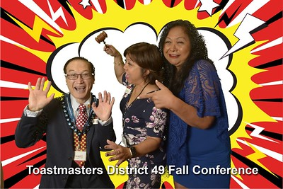 Toastmasters D49 2017 Fall Conference Photo Booth