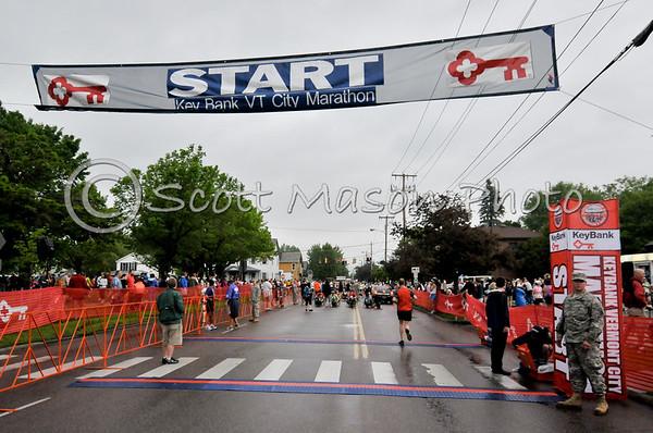 Vermont City Marathon 2011