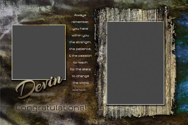Devin Patrick - Half Page Template