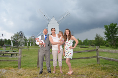 family portrait from Parker wedding