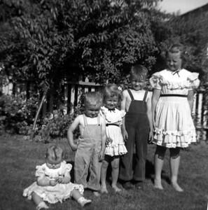 Axel and Edna Myrberg Family