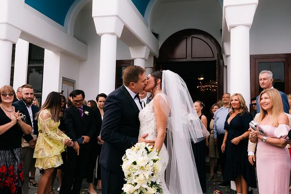 Wedding Ceremony at Greek Orthodox Church of St Anna