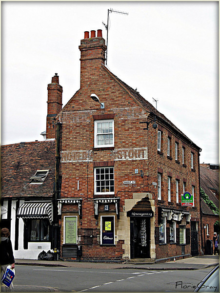 Ghost Sign, Stratford  ©2009 FlorieGray