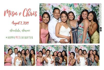 Chris & Misa's Wedding (Mini LED Open Air Photo Booth)