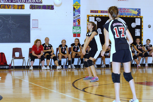 9-29-2009 Volleyball vs. Memorial