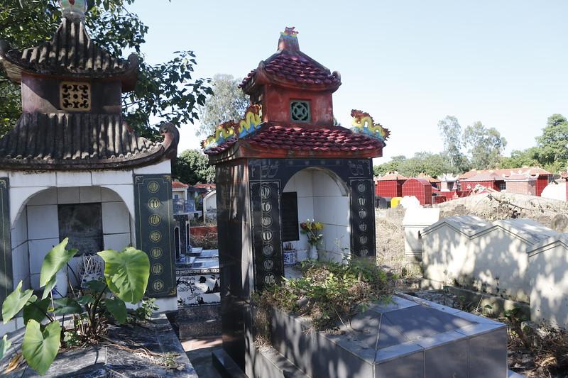 Vietnamese Traditional Cemetery