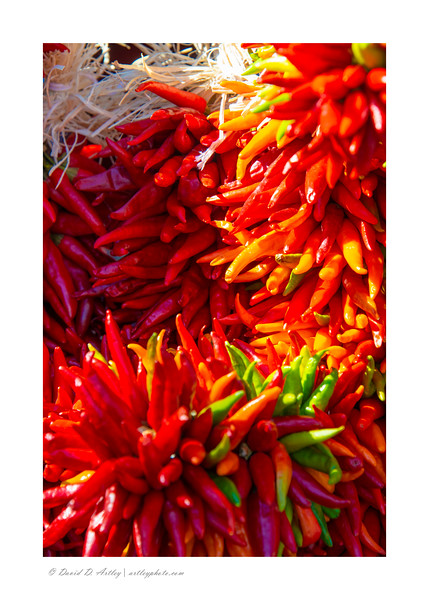 Chili wreaths, Pueblo Chili and Frijole Festival