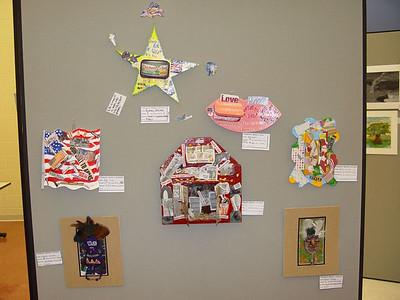 Middle School Activities - 2004-2005 - 4/28/2005 NCCS Art Show