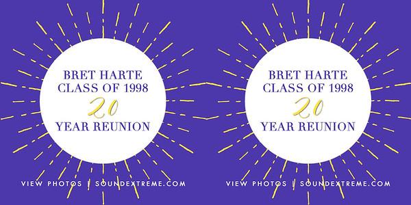 Bret Harte Class of 1998 20 Year Reunion