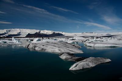 Skaftafellsjökull and Jökulsárlón Glacial Lagoon