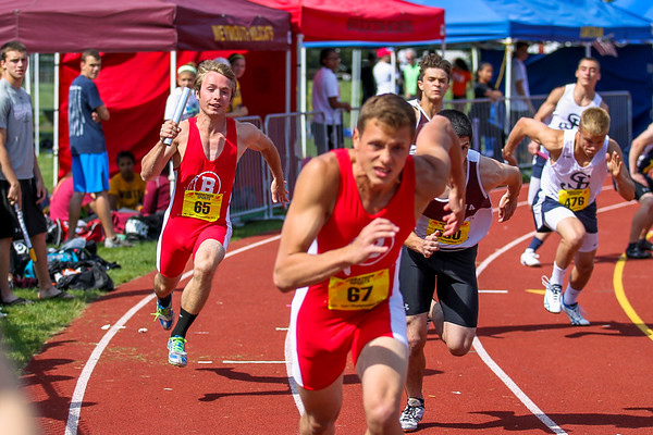 Relays -- 2013 Outdoor D1 State Championship
