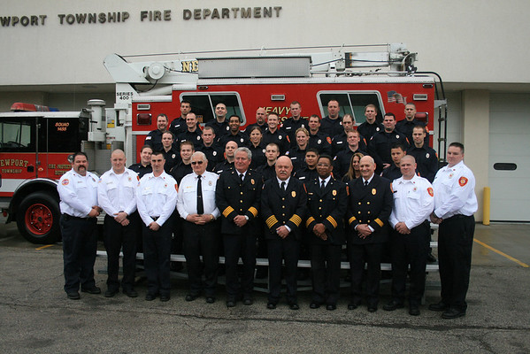 Newport Fire Protection District Chief Mark Kirschhoffer Fire Chief Of The Year