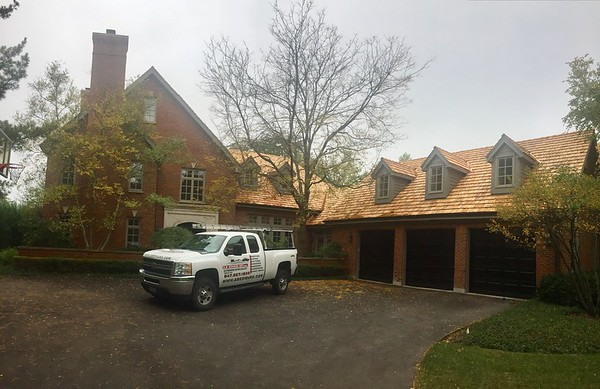 Cedar Roof Replacement - Glencoe IL