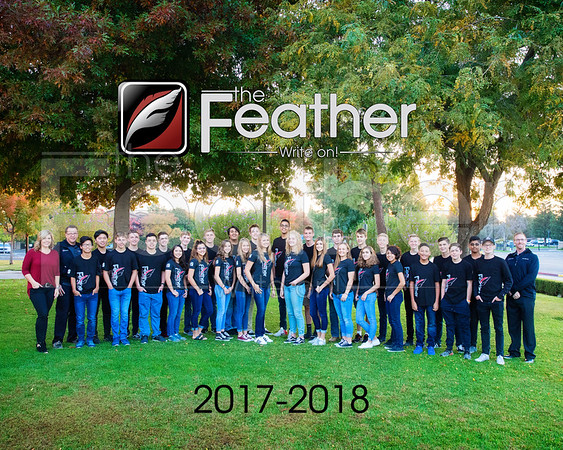 Feather Staff 2017-2018