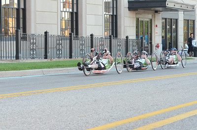 Hand Cycle at .25 Miles - 2013 HealthPlus Crim Festival of Races