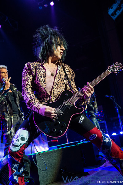 Steve Steves with Billy Idol at The Pearl