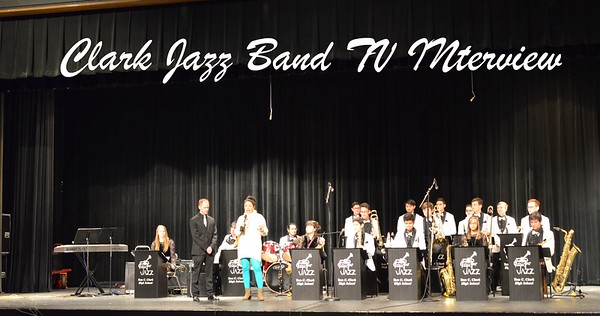 20170215 Clark Jazz Band TV Interview