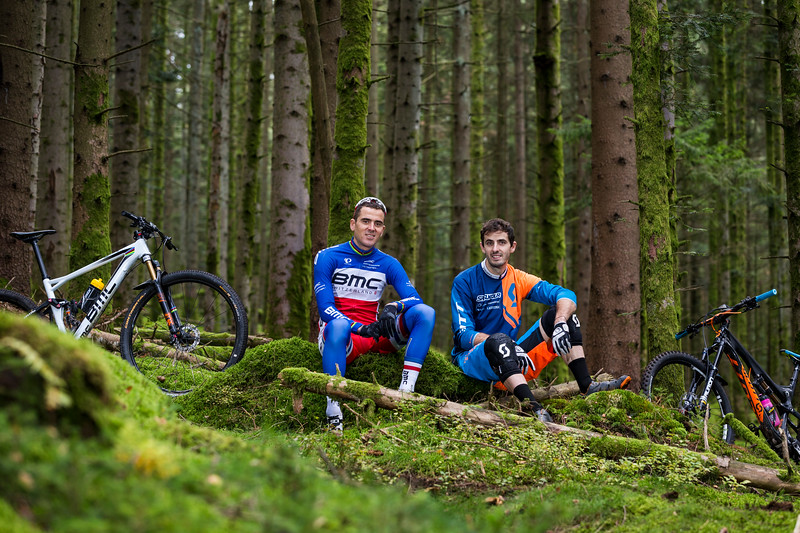 Julien & Rémi Absalon / XC Gold Olympic Medalist & Enduro Champion / Remiremont, Vosges, France, 2015