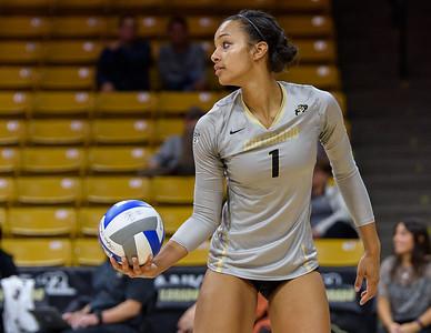 NCAA - Women's Volleyball - CU vs Washington State - 20171101