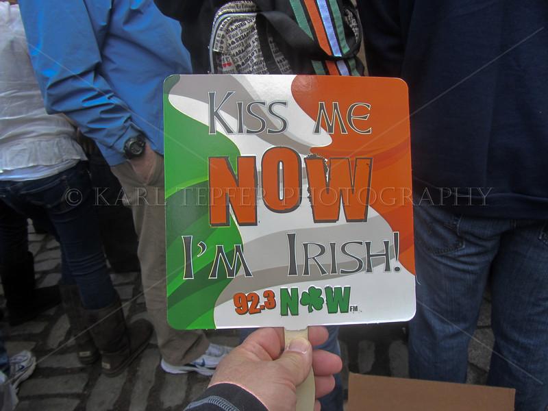 St. Patrick's Day Parade NYC 2012