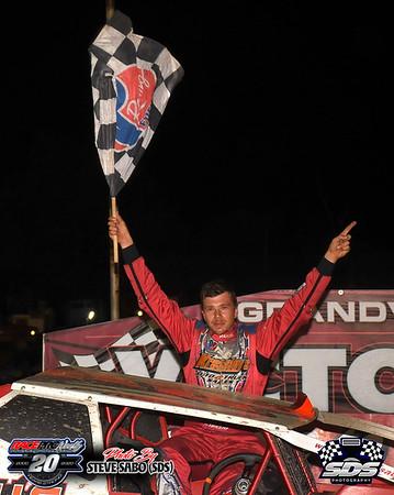 Grandview Speedway - 8/22/20 - Steve Sabo (SDS)