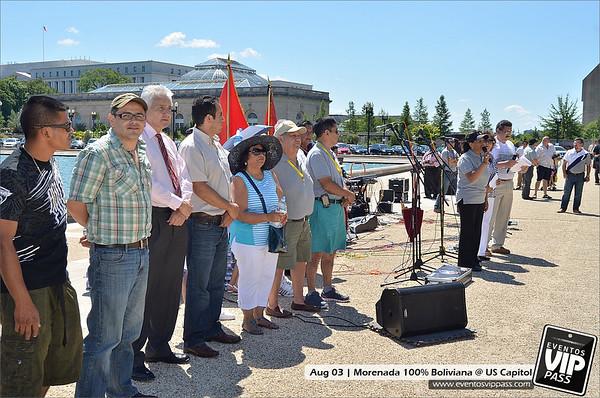 Morenada 100% Boliviana @ US Capitol | Sun, Aug 04