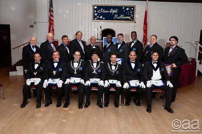 2012 Freemasons Officer Installation
