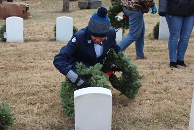 LPS Jr. ROTC cadets honor veterans at wreath ceremony