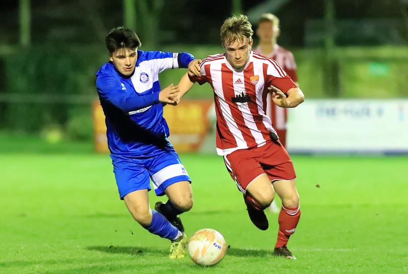 Felixstowe & Walton Utd U-18v Bury Town U-18 s in Quarter Final  of  U-18 Cup