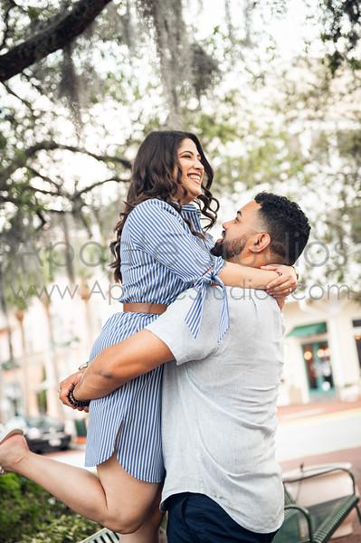 Paola & Jose engagement